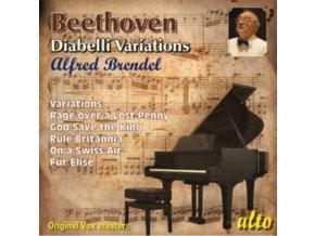 ALFRED BRENDEL - Beethoven Diabelli Variations / God Save King / Rule Britannia / Other Vars (CD)