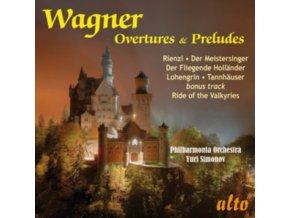 PHILHARMONIA / YURI SIMONOV - Wagner Overtures & Preludes: Rienzi / Tannhauser / Meistersinger Etc (CD)