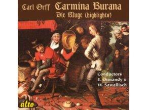 PHILADEPHIA / ORMANDY / PHILH / SAWALLISCH - Orff: Carmina Burana / Die Kluge (Highlights) (CD)