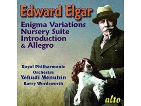 RPO / YEHUDI MENUHIN / WORDSWORTH - Elgar: Enigma Variations / Nursery Suite / Intro & Allegro / Pomp No.4 (CD)