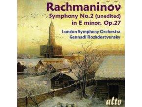 GENNADI ROZHDESTVENSKY / L.S.O - Rachmaninov 2Nd Symphony (Unedited Over 66 Minutes) (CD)