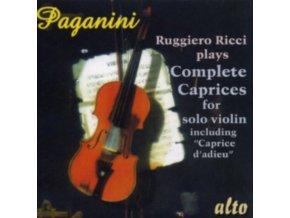 RUGGIERO RICCI - Paganini 25 Caprices (CD)