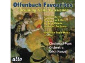 CINCINNATI POPS / KUNZEL - Offenbach Favs:Gaite Parisienne / Can Can Etc / (CD)
