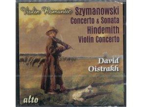 DAVID OISTRAKH / LENINGRAD / LSO - Szymanowski Violin Conc #1 / Sonata #1 / Hindemith: Violin Concerto (CD)