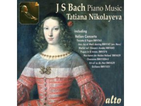 TATIANA NIKOLAYEVA - Bach Piano Music: Jesu Joy. Toccata. Italian Concerto Etc Etc (Arrs.) (CD)