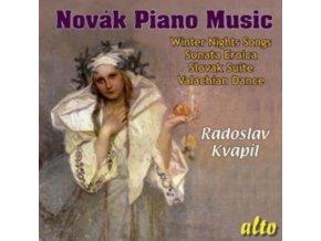 RADOSLAV KVAPIL - Novak Piano Music / Sonata / Songs Winter Nights / Suite (CD)