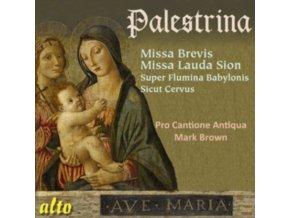 PRO CANTIONE ANTIQUA - Palestrina Missa Brevis / Missa Lauda Sion / Sicut Servis / Super Flumina Babylonis (CD)