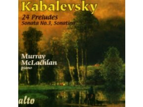 MURRAY MCLACHLAN - Kabalevsky Preludes Etc / (CD)