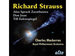 R.P.O / CHARLES MACKERRAS - Richard Strauss: Also Sprach Zarathustra / Don Juan / Till Eulenspiegel (CD)