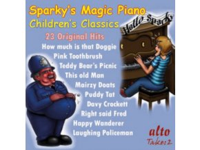 LAUGHIN POLICE / MAX BYGRAVES / BURL IVES / PATTY PAGE / DANNY KAYE ETC) - Sparkys Magic Piano / Childrens Radio Favourites (23 Classics) (CD)