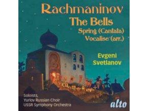 SOLOISTS / YURLOV CHOIR / USSR SYMPHONY / SVETLANOV - Rachmaninov: The Bells / Spring Cantata / Vocalise (Arr Soprano Etc) (CD)