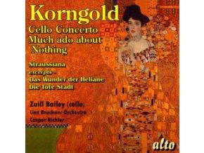 LINZ BRUCKNER ORCH / CASPAR RICHTER - Korngold: Cello Conc / Much Ado / Das Wunder (Exc) Etc (CD)