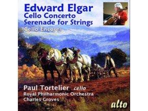 PAUL TORTELIER (CELLO) RPO / GROVES - Elgar: Cello Concerto / Serenade / Dvorak Romance / Tchaik: Rococo Vars (CD)