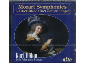 BERLIN PHILHARMONIC / KARL BOHM - Mozart Symphonies 32. 35 Haffner. 36 Linz. And 38 Prague (CD)
