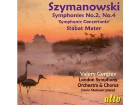 VALERY GERGIEV / LSO - Szymanowski Symphonies 2.4 & Stabat Mater (CD)
