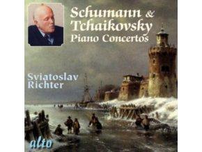SVIATOSLAV RICHTER (WITH WARSAW / VIENNA ORCHS) - Schumann & Tchaikovsky Piano Concertos (CD)
