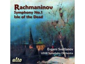SVETLANOV / USSR SYMPHONY - Rachmaninov Symphony 1 / Isle Of The Dead (CD)