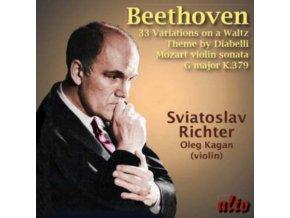 SVIATOSLAV RICHTER / LEONID KOGAN (MOZART) - Beethoven: Diabelli Variations / Mozart Violin Sonata K (CD)