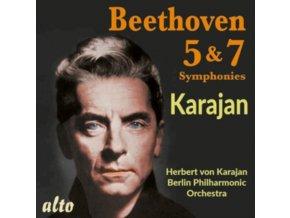 KARAJAN / BPO - Beethoven: Symphonies 5 & 7 (CD)