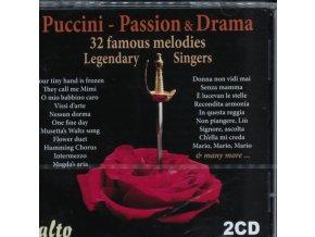 TEBALDI / CALLAS / BJORLING / DI STEFANO ETC - Puccini: Passion And Drama (Special Price 2Cd Favourites) (CD)