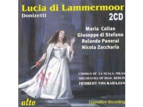 CALLAS / DI STEFANO / PANERAI / RIAS / KARAJAN - Donizetti: Lucia Di Lammermoor (CD)