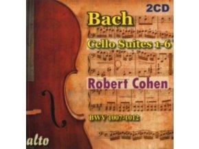 ROBERT COHEN - Bach Cello Suites 1-6 (Digital) (CD)