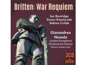 BOSTRIDGE / KEENLYSIDE / NOSEDA / LSO - Britten: War Requiem (CD)