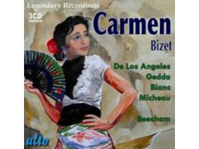 DE LOS ANGELES / GEDDA / BEECHAM - Bizet: Carmen ! / Classic Version (Stereo) (CD)