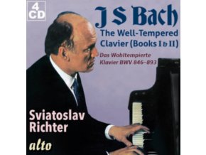 SVIATOSLAV RICHTER - J S Bach: The Well-Tempered Clavier 48 Preludes & Fugues (CD)