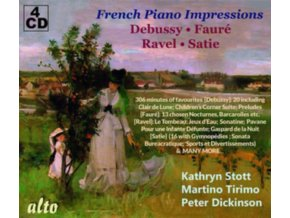 KATHRYN STOTT / MARTINO TIRIMO / PETER DICKINSON - French Piano Impressions: Debussy Favs / Faure Favs / Ravel Favs / Satie (CD)