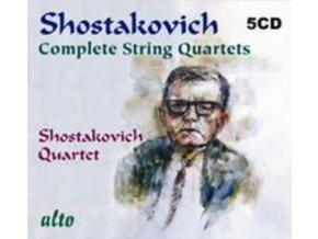 SHOSTAKOVICH QUARTET - Shostakovich Cpte String Qtts Incl Op36. (CD)