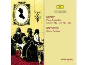 ANDOR FOLDES / BERLINER PHILHARMONIKER / LEHMANN / LUDWIG - Mozart: Piano Concertos / Beethoven: Choral Fantasy (CD)
