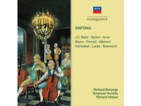 RICHARD BONYNGE / EMANUEL HURWITZ / RICHARD HICKOX - Sinfonia - Salieri. J.C. Bach. Arne. Purcell. Albinoni. Pach (CD)