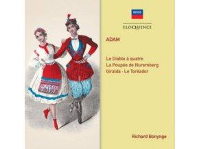 RICHARD BONYNGE / LSO / WNO & NEW PHILHARMONIC ORCHESTRAS - Adam: Le Diable A Quatre / Overtures (CD)