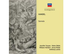 JENNIFER VYVYAN / ANTHONY LEWIS - Handel: Semele (CD)