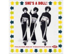 VARIOUS ARTISTS - Shes A Doll - Warner Bros. Feminine Side (CD)