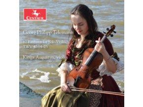 KINGA AUGUSTYN - Telemann: 12 Fantasias For Solo Violin. TWV 40: 14-25 (CD)