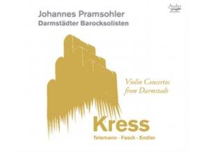 JOHANNES PRAMSOHLER / DARMSTADT BAROQUE SOLOISTS - Violin Concertos From Darmstadt: Kress / Telemann (CD)