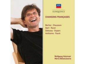 WOLFGANG HOLZMAIR / MARIA BELOOUSSOVA - Chansons Francaises (CD)