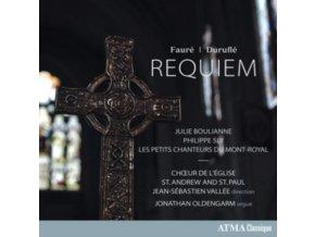 CHOEUR DE LEGLISE ST. ANDREW AND ST. PAUL / JEAN-SEBASTIEN VALLEE AND JONATHAN OLDENGARM - Faure: Requiem (CD)