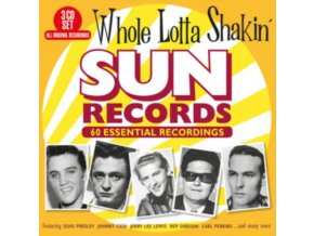 VARIOUS ARTISTS - Whole Lotta Shakin - Sun Records 60 Essential Recordings (CD)