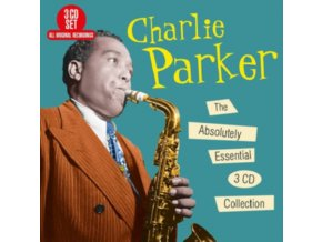 CHARLIE PARKER - The Absolutely Essential 3 Cd Collection (CD)