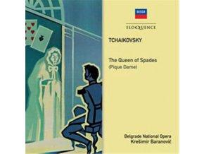 ORCHESTRA OF THE NATIONAL OPERA / BELGRADE / KRESIMIR BARANOVI - Tchaikovsky: The Queen Of Spades / Pique Dame (CD)