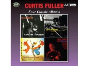 CURTIS FULLER - Four Classic Albums (CD)