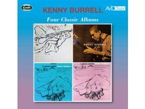 KENNY BURRELL - Four Classic Albums (CD)