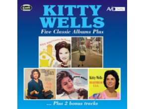 KITTY WELLS - Five Classic Albums (CD)