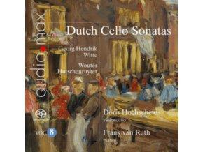 DORIS HOCHSCHEID / FRANS VAN RUTH - Dutch Cello Sonatas Vol. 8 (SACD)