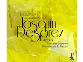 METAMORPHOSES ET BISCANTOR & JULIETTE DE MASSY - Josquin Et LEspagne - Messes Fortuna Desperata & Une Musque De Biscaye (CD)