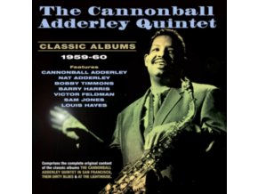 CANNONBALL ADDERLEY QUINTET - Classic Albums 1959-60 (CD)