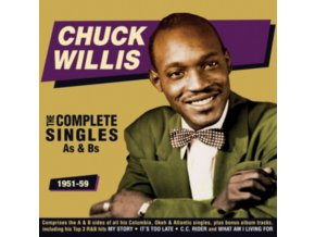 CHUCK WILLIS - The Complete Singles As & Bs 1951-59 (CD)